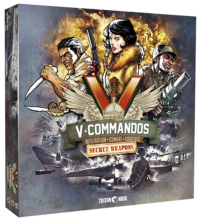V*COMMANDOS secret weapons extension